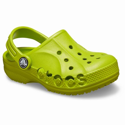Crocs Baya Clogs Kinder Grün | DE11743-969