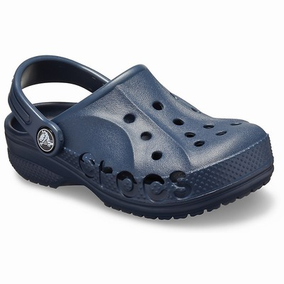 Crocs Baya Clogs Kinder Navy | DE61950-694