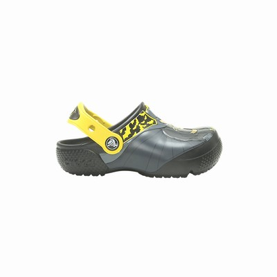 Crocs Fun Lab Iconic Batman Clogs Kinder Schwarz | DE90606-201