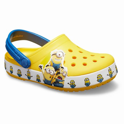 Crocs Fun Lab Minions Multi Clogs Kinder Gelb | DE98279-688