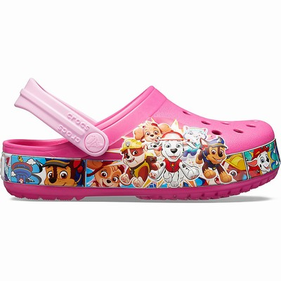 Crocs Fun Lab Paw Patrol Band Clogs Kinder Fuchsie | DE68786-119