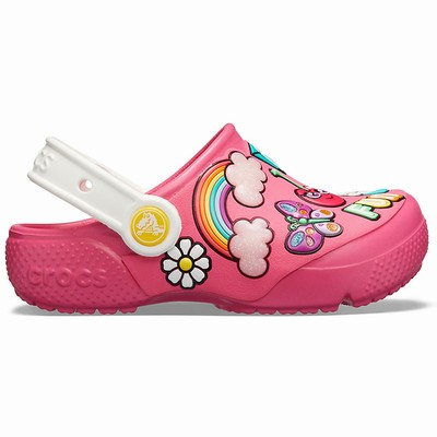 Crocs Fun Lab Playful Patches Clogs Kinder Rosa | DE42995-431