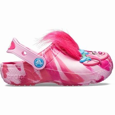 Crocs Fun Lab Trolls Clogs Kinder Rosa | DE28399-841